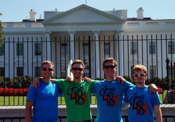7 states in 7 days. Washington D.C.
